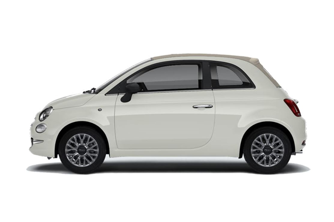 Fiat 500 1.2 69PK - Lounge Cabrio