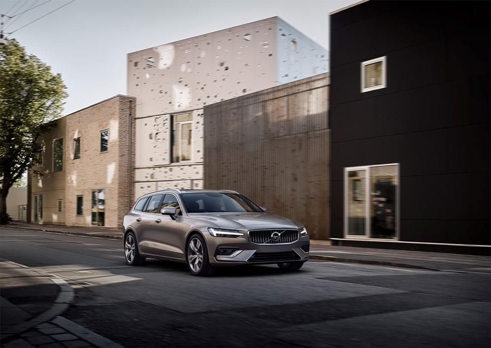 Ny Volvo V60: Hvis en bil kunne købes i Illums Bolighus