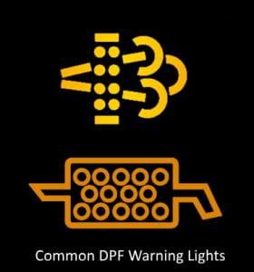 DPF warning
